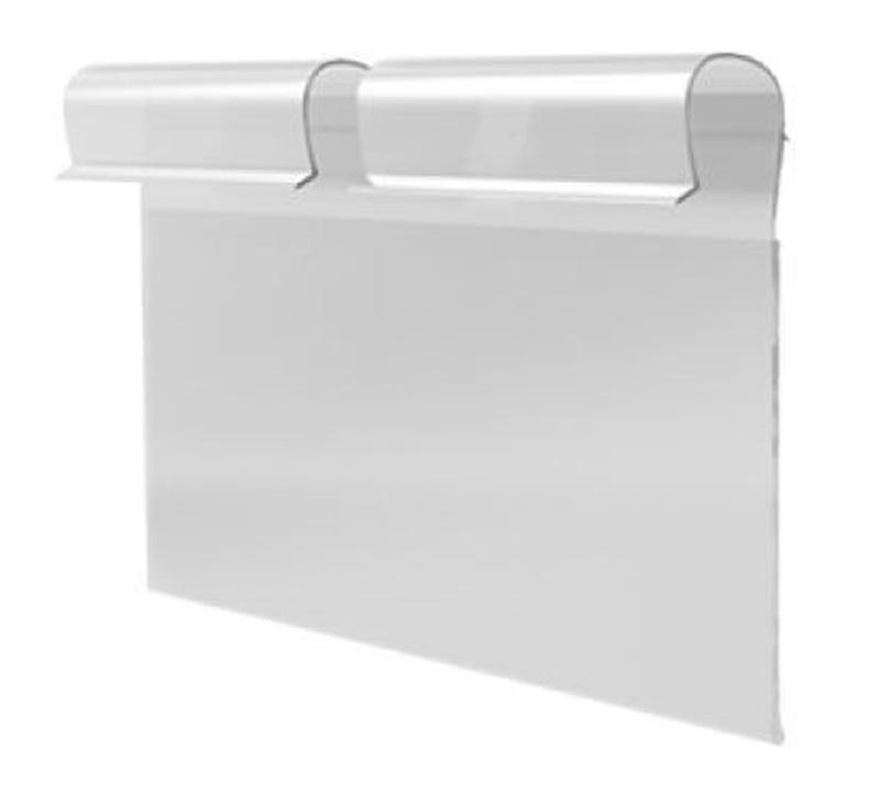 Porta etiqueta pvc